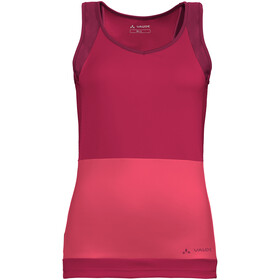 VAUDE Advanced IV Sleeveless Jersey Women crimson red